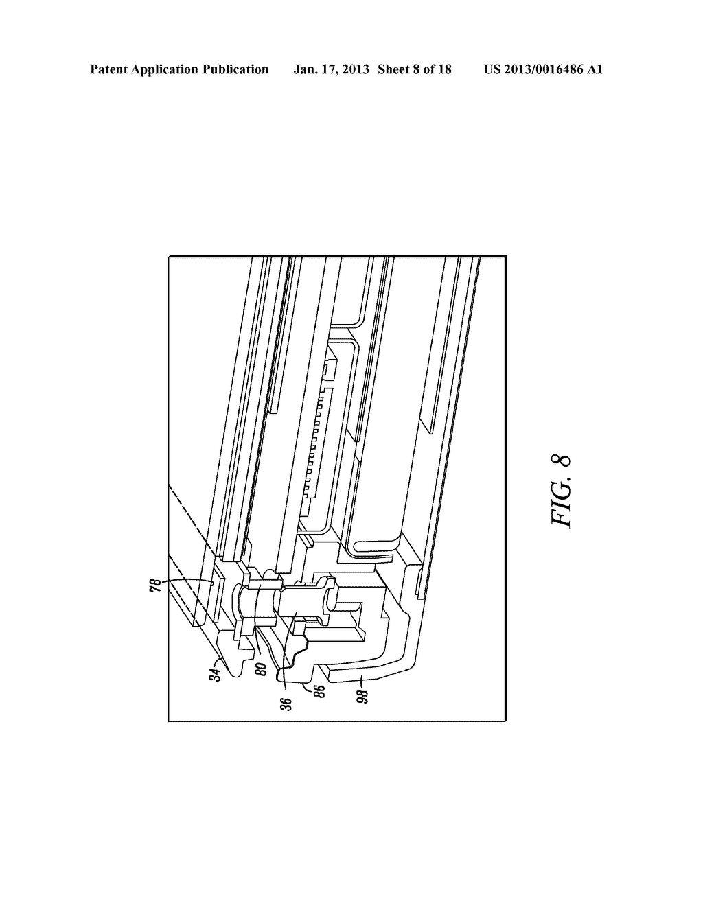 MOBILE ELECTRONIC DEVICE WITH ENHANCED CHASSIS - diagram, schematic, and image 09