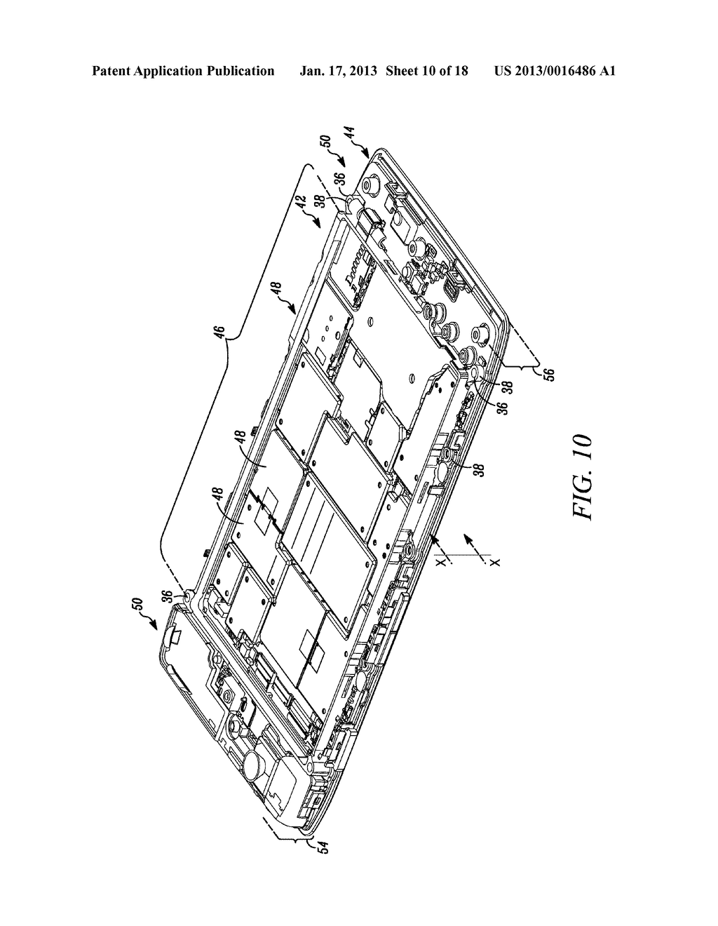 MOBILE ELECTRONIC DEVICE WITH ENHANCED CHASSIS - diagram, schematic, and image 11