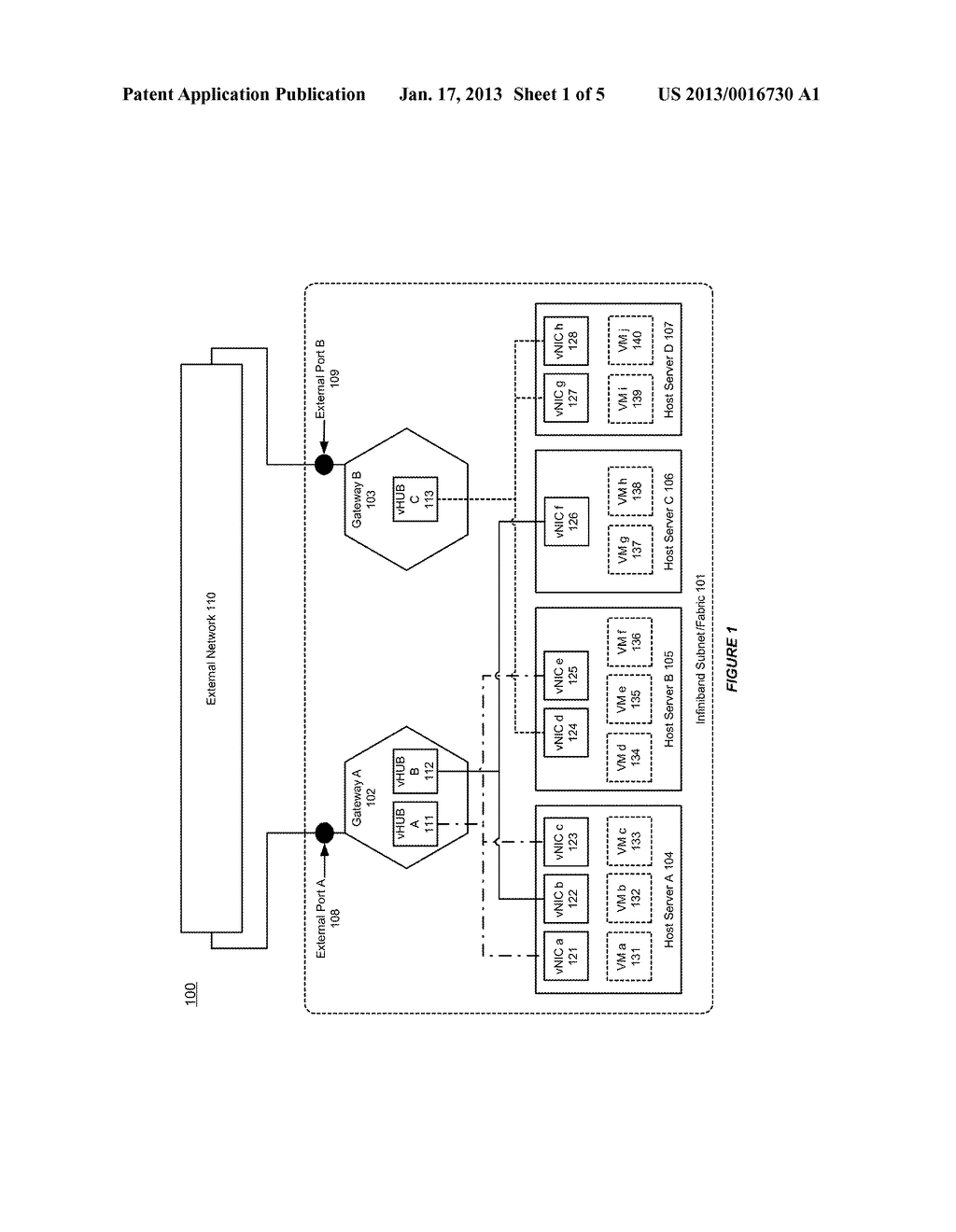 SYSTEM AND METHOD FOR USING A PACKET PROCESS PROXY TO SUPPORT A FLOODING     MECHANISM IN A MIDDLEWARE MACHINE ENVIRONMENT - diagram, schematic, and image 02