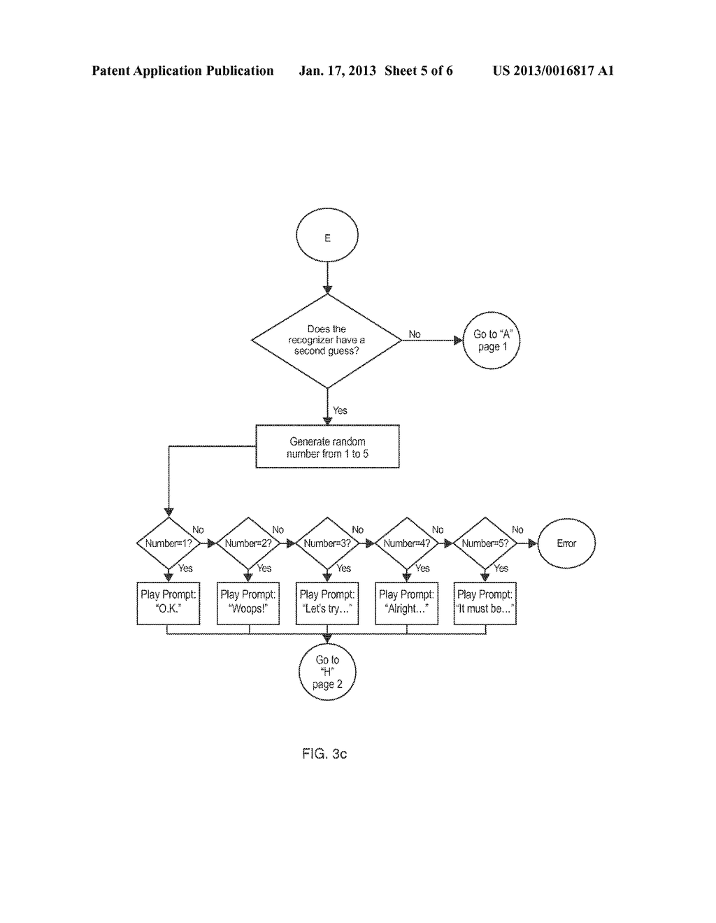 Voice Response Apparatus and Method of Providing Automated Voice Responses     with Silent Prompting - diagram, schematic, and image 06