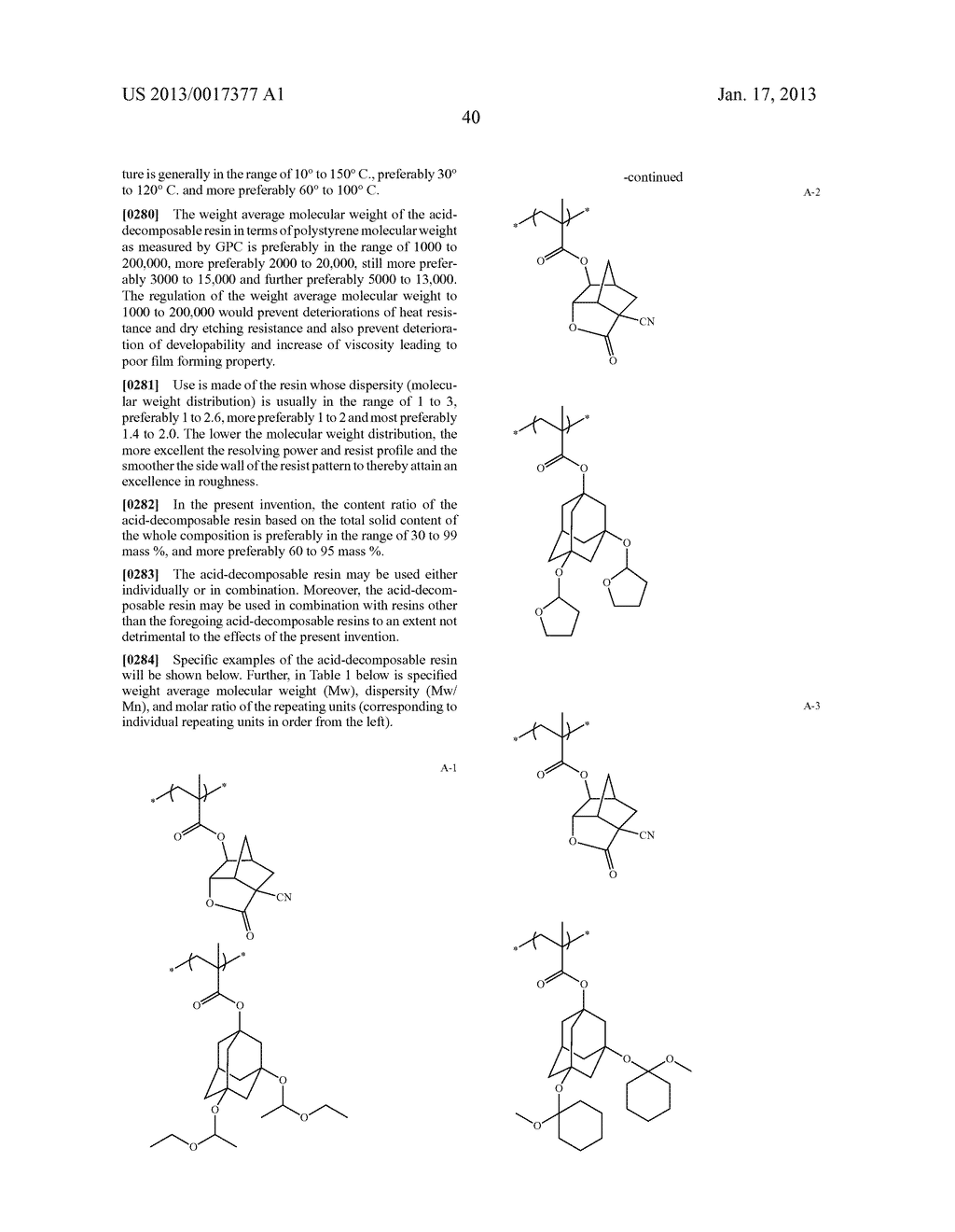 ACTINIC-RAY- OR RADIATION-SENSITIVE RESIN COMPOSITION AND METHOD OF     FORMING PATTERN USING THE SAMEAANM Kataoka; ShoheiAACI ShizuokaAACO JPAAGP Kataoka; Shohei Shizuoka JPAANM Iwato; KaoruAACI ShizuokaAACO JPAAGP Iwato; Kaoru Shizuoka JPAANM Kamimura; SouAACI ShizuokaAACO JPAAGP Kamimura; Sou Shizuoka JPAANM Tsuchihashi; ToruAACI ShizuokaAACO JPAAGP Tsuchihashi; Toru Shizuoka JPAANM Enomoto; YuichiroAACI ShizuokaAACO JPAAGP Enomoto; Yuichiro Shizuoka JPAANM Fujii; KanaAACI ShizuokaAACO JPAAGP Fujii; Kana Shizuoka JPAANM Mizutani; KazuyoshiAACI ShizuokaAACO JPAAGP Mizutani; Kazuyoshi Shizuoka JPAANM Tarutani; ShinjiAACI ShizuokaAACO JPAAGP Tarutani; Shinji Shizuoka JPAANM Kato; KeitaAACI ShizuokaAACO JPAAGP Kato; Keita Shizuoka JP - diagram, schematic, and image 41