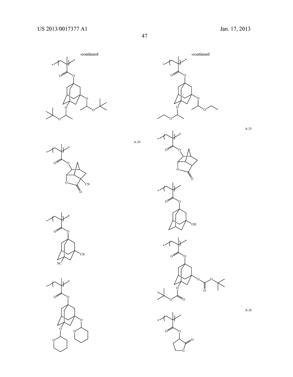 ACTINIC-RAY- OR RADIATION-SENSITIVE RESIN COMPOSITION AND METHOD OF     FORMING PATTERN USING THE SAMEAANM Kataoka; ShoheiAACI ShizuokaAACO JPAAGP Kataoka; Shohei Shizuoka JPAANM Iwato; KaoruAACI ShizuokaAACO JPAAGP Iwato; Kaoru Shizuoka JPAANM Kamimura; SouAACI ShizuokaAACO JPAAGP Kamimura; Sou Shizuoka JPAANM Tsuchihashi; ToruAACI ShizuokaAACO JPAAGP Tsuchihashi; Toru Shizuoka JPAANM Enomoto; YuichiroAACI ShizuokaAACO JPAAGP Enomoto; Yuichiro Shizuoka JPAANM Fujii; KanaAACI ShizuokaAACO JPAAGP Fujii; Kana Shizuoka JPAANM Mizutani; KazuyoshiAACI ShizuokaAACO JPAAGP Mizutani; Kazuyoshi Shizuoka JPAANM Tarutani; ShinjiAACI ShizuokaAACO JPAAGP Tarutani; Shinji Shizuoka JPAANM Kato; KeitaAACI ShizuokaAACO JPAAGP Kato; Keita Shizuoka JP - diagram, schematic, and image 48