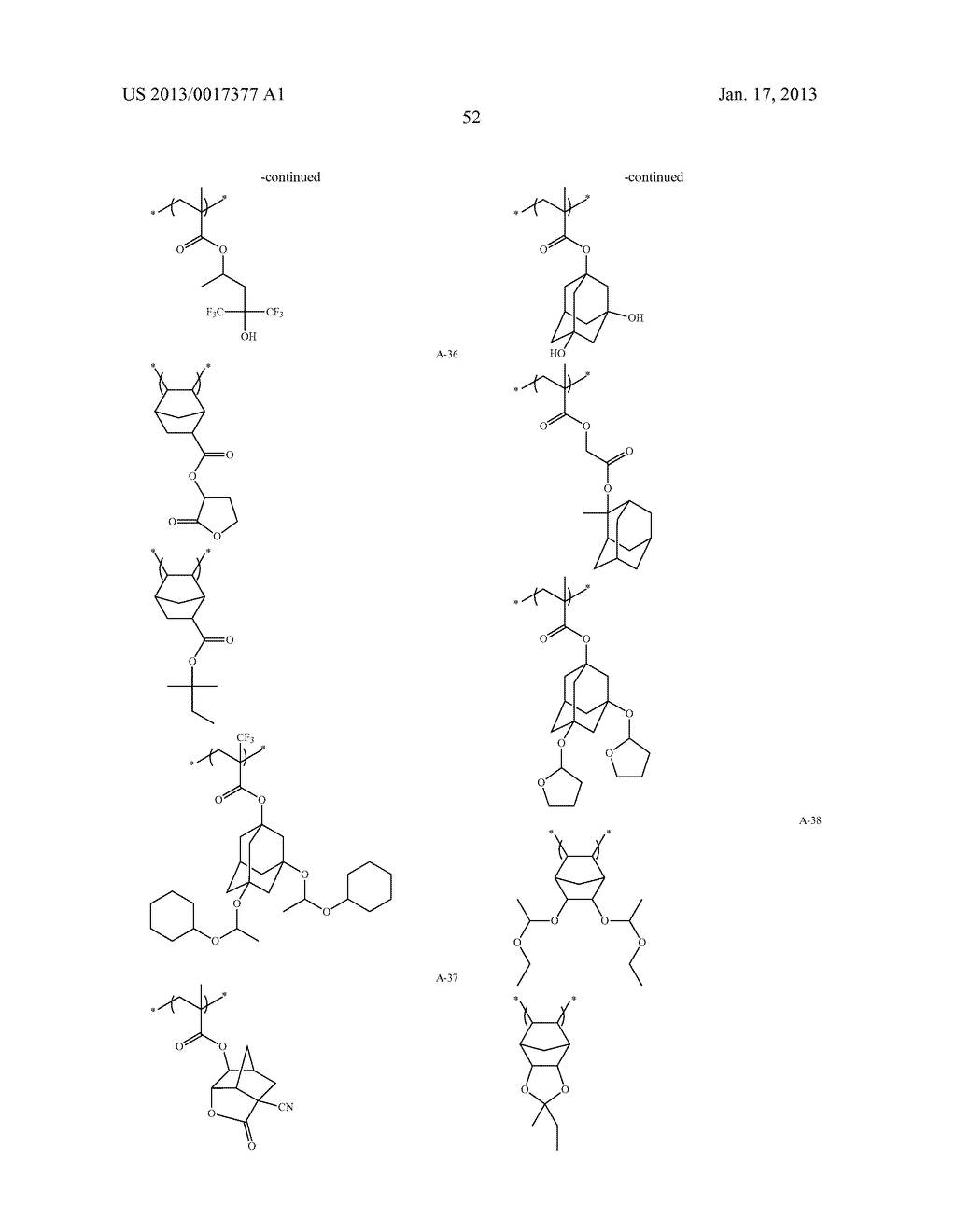 ACTINIC-RAY- OR RADIATION-SENSITIVE RESIN COMPOSITION AND METHOD OF     FORMING PATTERN USING THE SAMEAANM Kataoka; ShoheiAACI ShizuokaAACO JPAAGP Kataoka; Shohei Shizuoka JPAANM Iwato; KaoruAACI ShizuokaAACO JPAAGP Iwato; Kaoru Shizuoka JPAANM Kamimura; SouAACI ShizuokaAACO JPAAGP Kamimura; Sou Shizuoka JPAANM Tsuchihashi; ToruAACI ShizuokaAACO JPAAGP Tsuchihashi; Toru Shizuoka JPAANM Enomoto; YuichiroAACI ShizuokaAACO JPAAGP Enomoto; Yuichiro Shizuoka JPAANM Fujii; KanaAACI ShizuokaAACO JPAAGP Fujii; Kana Shizuoka JPAANM Mizutani; KazuyoshiAACI ShizuokaAACO JPAAGP Mizutani; Kazuyoshi Shizuoka JPAANM Tarutani; ShinjiAACI ShizuokaAACO JPAAGP Tarutani; Shinji Shizuoka JPAANM Kato; KeitaAACI ShizuokaAACO JPAAGP Kato; Keita Shizuoka JP - diagram, schematic, and image 53