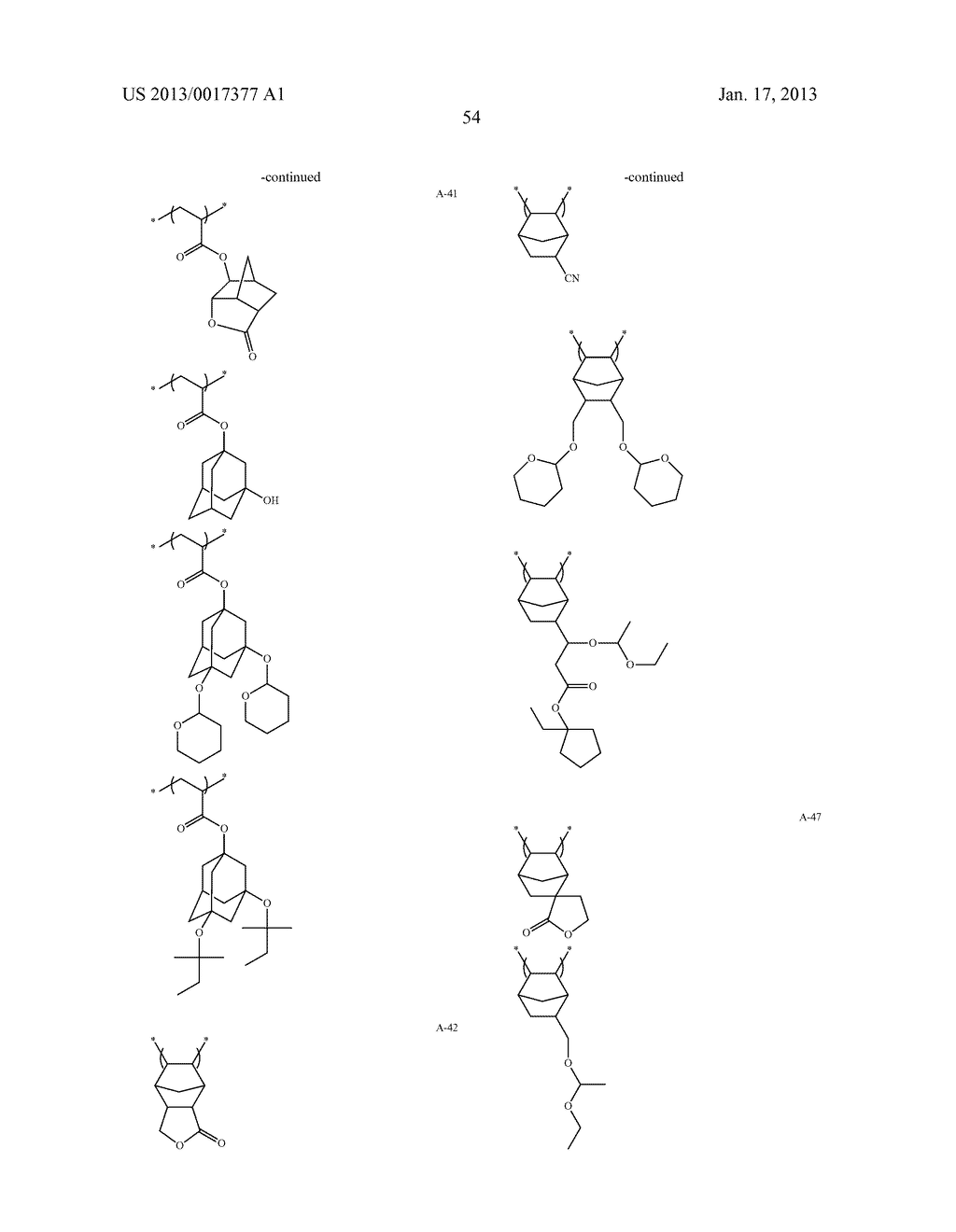ACTINIC-RAY- OR RADIATION-SENSITIVE RESIN COMPOSITION AND METHOD OF     FORMING PATTERN USING THE SAMEAANM Kataoka; ShoheiAACI ShizuokaAACO JPAAGP Kataoka; Shohei Shizuoka JPAANM Iwato; KaoruAACI ShizuokaAACO JPAAGP Iwato; Kaoru Shizuoka JPAANM Kamimura; SouAACI ShizuokaAACO JPAAGP Kamimura; Sou Shizuoka JPAANM Tsuchihashi; ToruAACI ShizuokaAACO JPAAGP Tsuchihashi; Toru Shizuoka JPAANM Enomoto; YuichiroAACI ShizuokaAACO JPAAGP Enomoto; Yuichiro Shizuoka JPAANM Fujii; KanaAACI ShizuokaAACO JPAAGP Fujii; Kana Shizuoka JPAANM Mizutani; KazuyoshiAACI ShizuokaAACO JPAAGP Mizutani; Kazuyoshi Shizuoka JPAANM Tarutani; ShinjiAACI ShizuokaAACO JPAAGP Tarutani; Shinji Shizuoka JPAANM Kato; KeitaAACI ShizuokaAACO JPAAGP Kato; Keita Shizuoka JP - diagram, schematic, and image 55