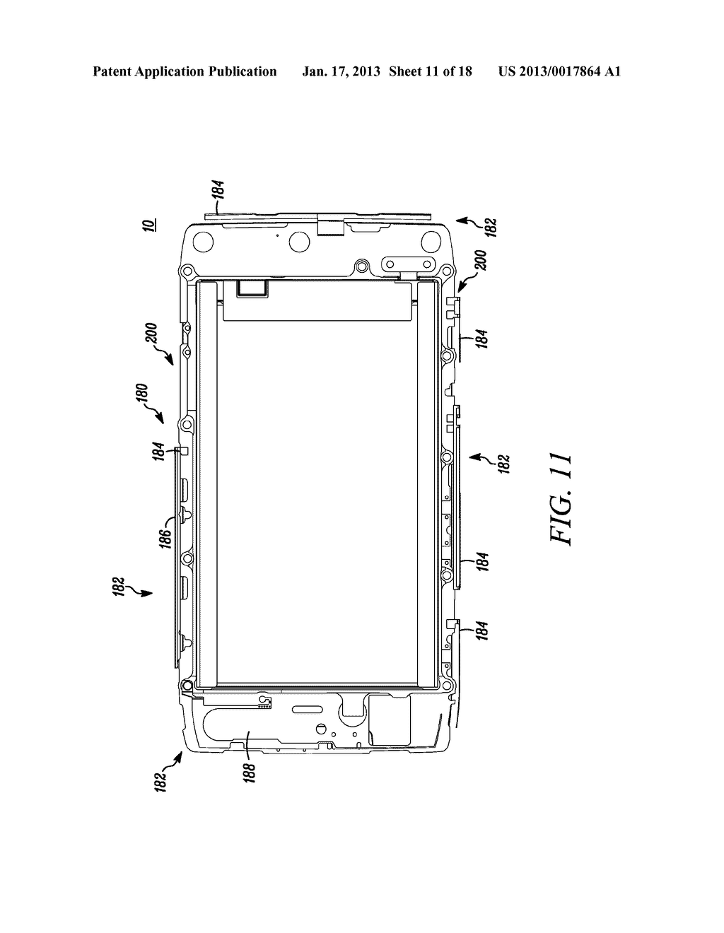 MOBILE ELECTRONIC DEVICE WITH ENHANCED IMPACT MITIGATION - diagram, schematic, and image 12