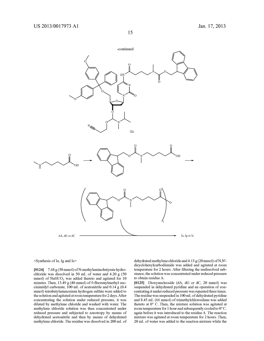 FUNCTIONAL MOLECULE, FUNCTIONAL MOLECULE SYNTHESIZING AMIDITE AND TARGET     SUBSTANCE ANALYSIS METHOD - diagram, schematic, and image 65