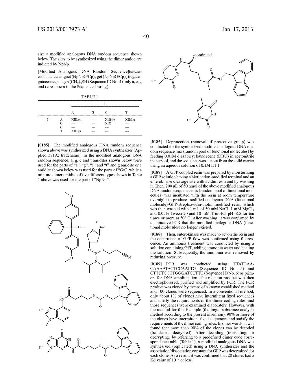 FUNCTIONAL MOLECULE, FUNCTIONAL MOLECULE SYNTHESIZING AMIDITE AND TARGET     SUBSTANCE ANALYSIS METHOD - diagram, schematic, and image 90