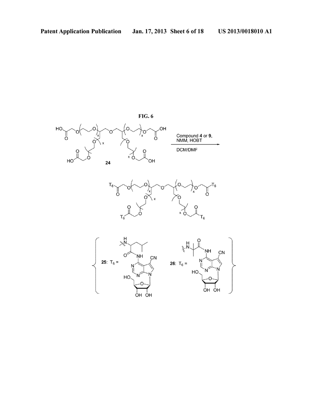 POLYMERIC CONJUGATES OF ADENINE NUCLEOSIDE ANALOGS - diagram, schematic, and image 07