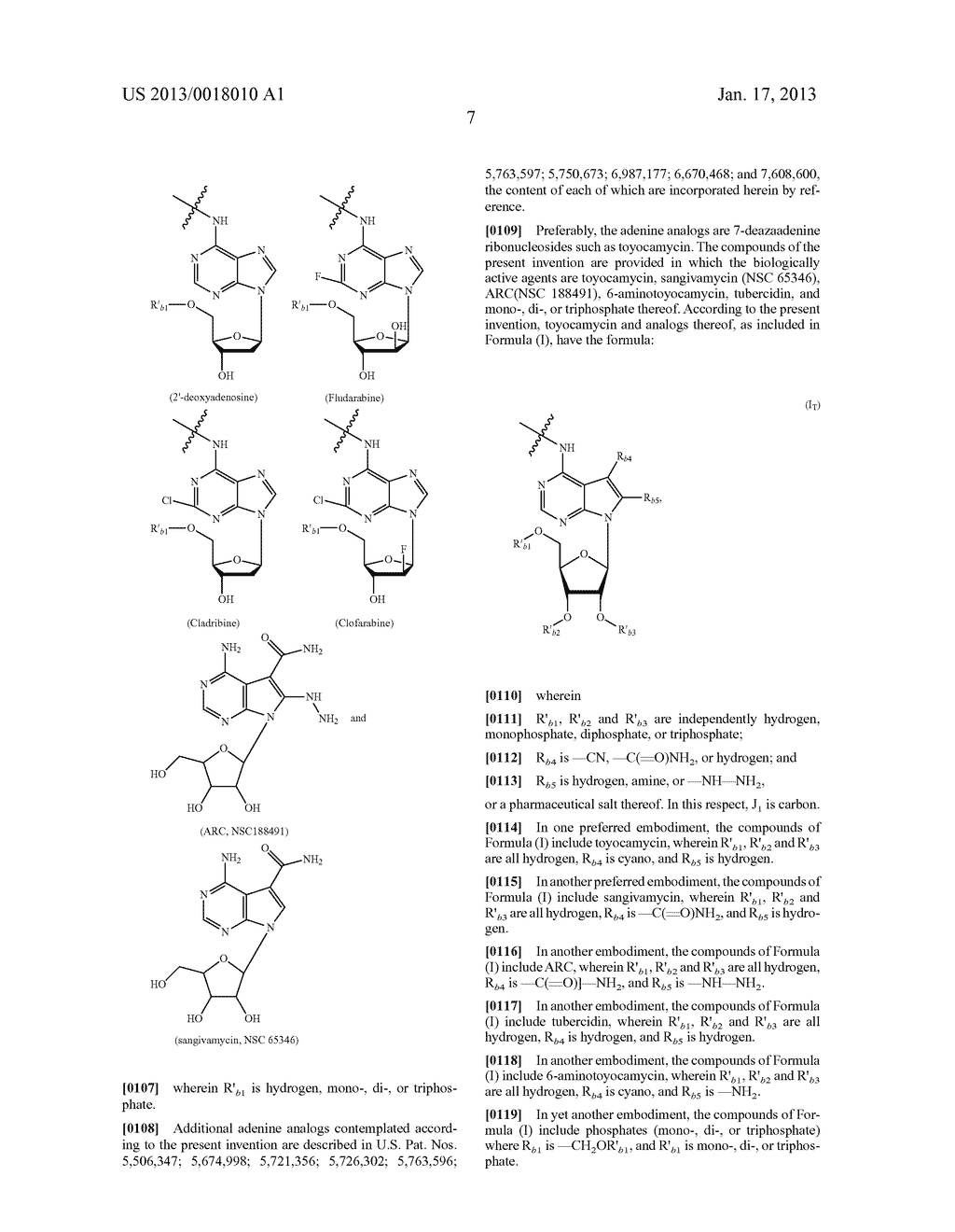 POLYMERIC CONJUGATES OF ADENINE NUCLEOSIDE ANALOGS - diagram, schematic, and image 26