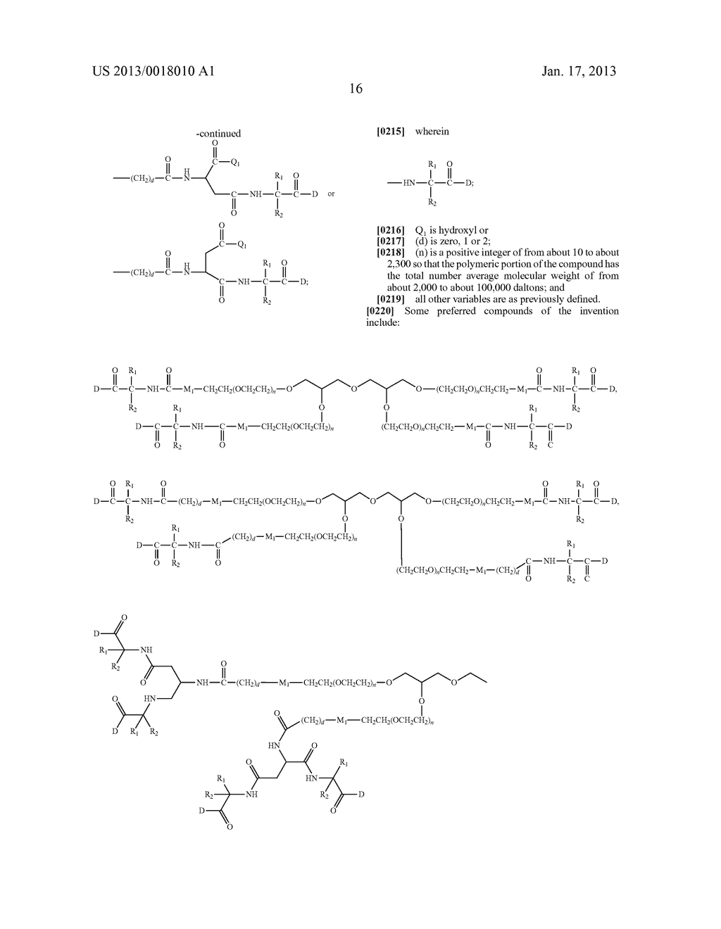 POLYMERIC CONJUGATES OF ADENINE NUCLEOSIDE ANALOGS - diagram, schematic, and image 35