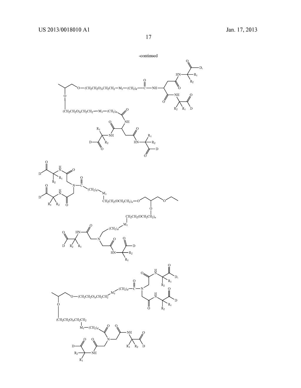 POLYMERIC CONJUGATES OF ADENINE NUCLEOSIDE ANALOGS - diagram, schematic, and image 36