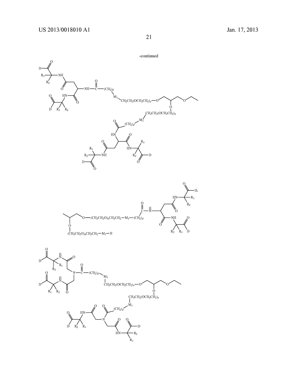 POLYMERIC CONJUGATES OF ADENINE NUCLEOSIDE ANALOGS - diagram, schematic, and image 40