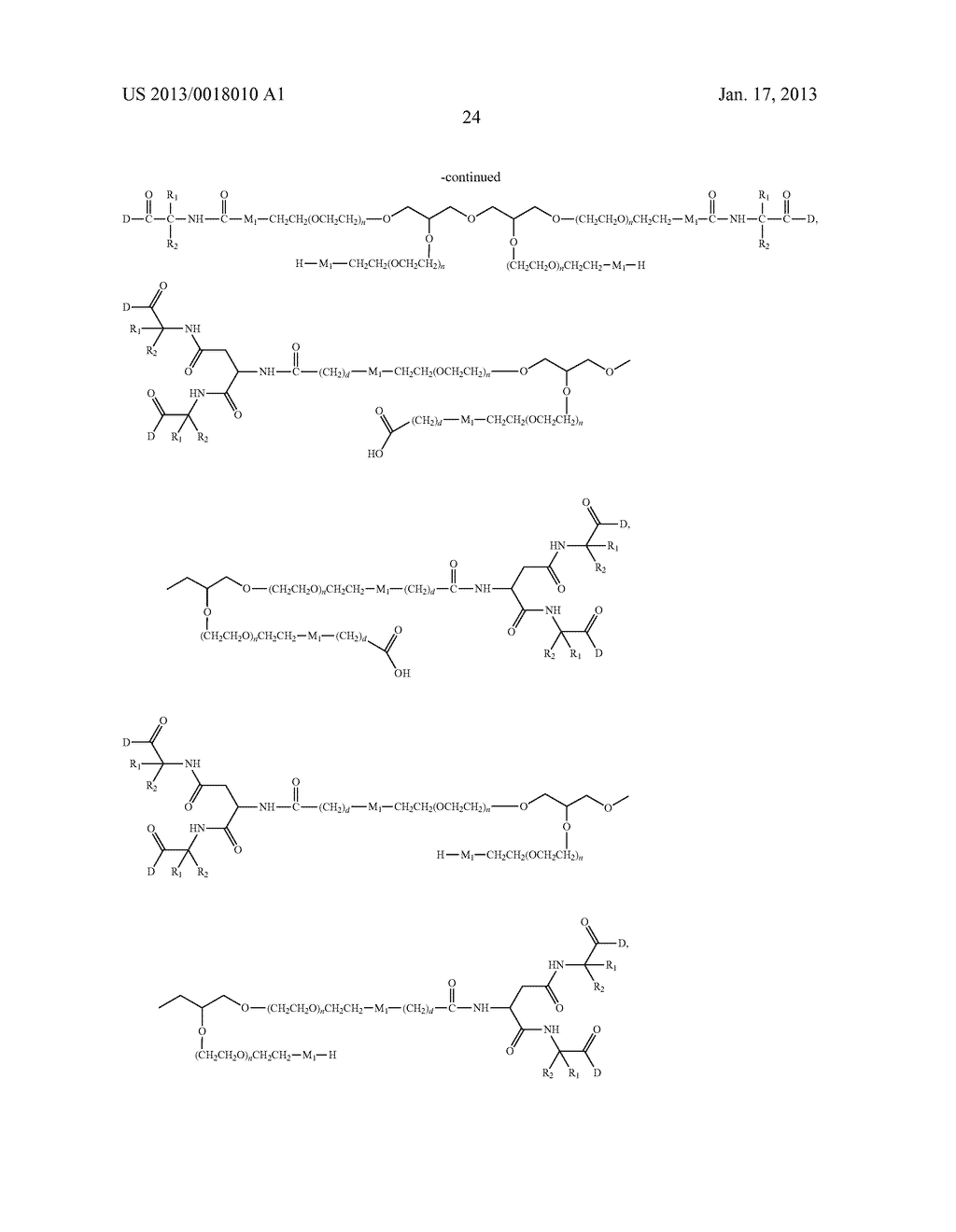 POLYMERIC CONJUGATES OF ADENINE NUCLEOSIDE ANALOGS - diagram, schematic, and image 43