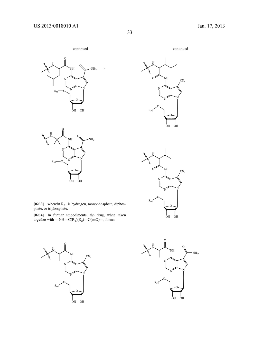 POLYMERIC CONJUGATES OF ADENINE NUCLEOSIDE ANALOGS - diagram, schematic, and image 52