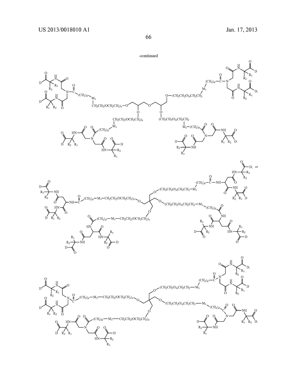 POLYMERIC CONJUGATES OF ADENINE NUCLEOSIDE ANALOGS - diagram, schematic, and image 85