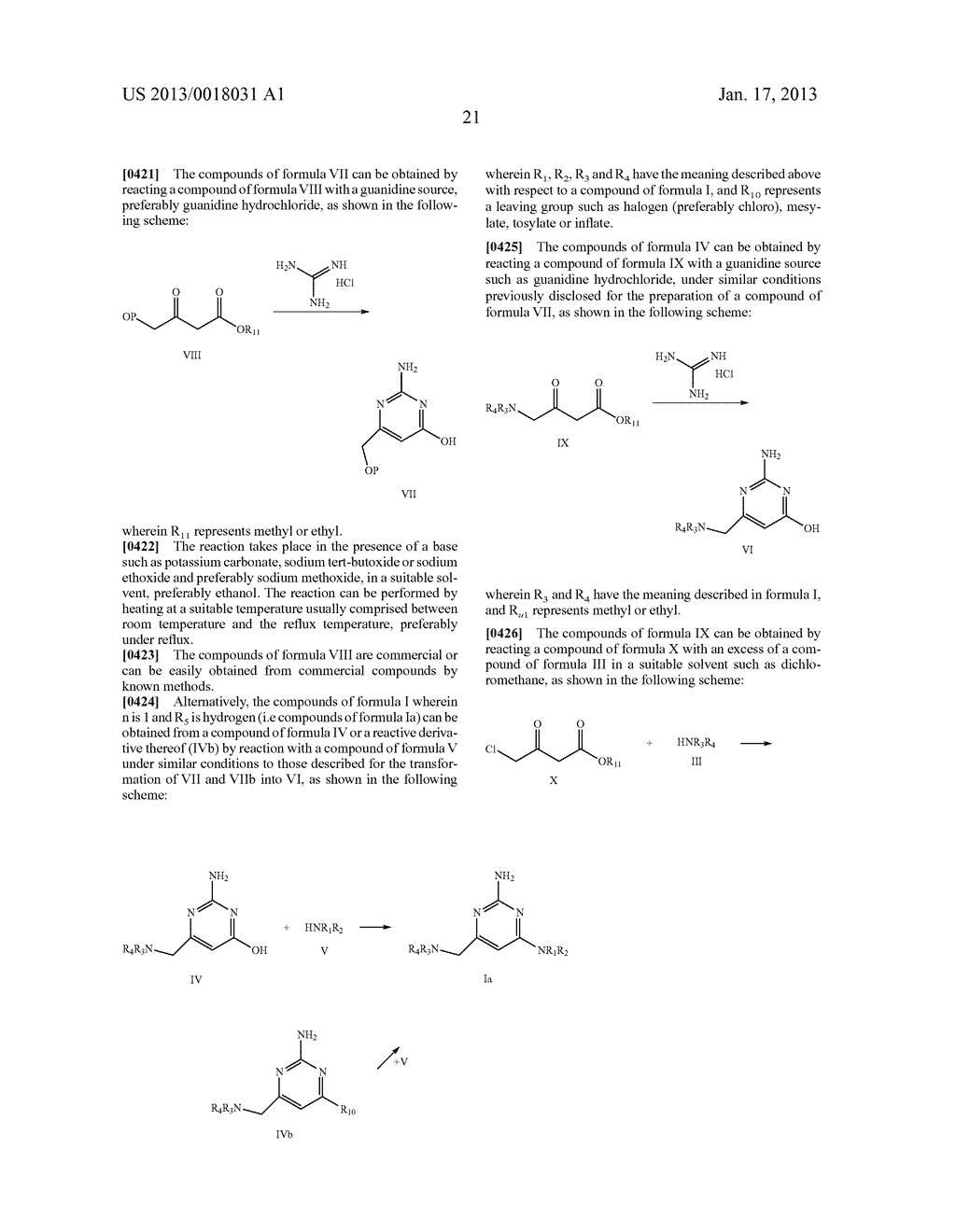 AMINOALKYLPYRIMIDINE DERIVATIVES AS HISTAMINE H4 RECEPTOR ANTAGONISTS - diagram, schematic, and image 22