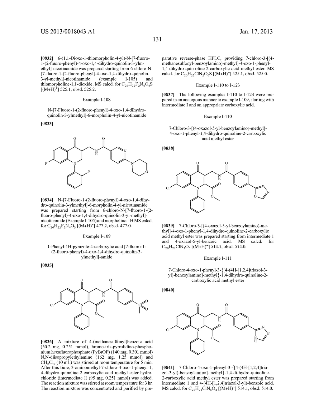 AMINOMETHYL QUINOLONE COMPOUNDS - diagram, schematic, and image 132