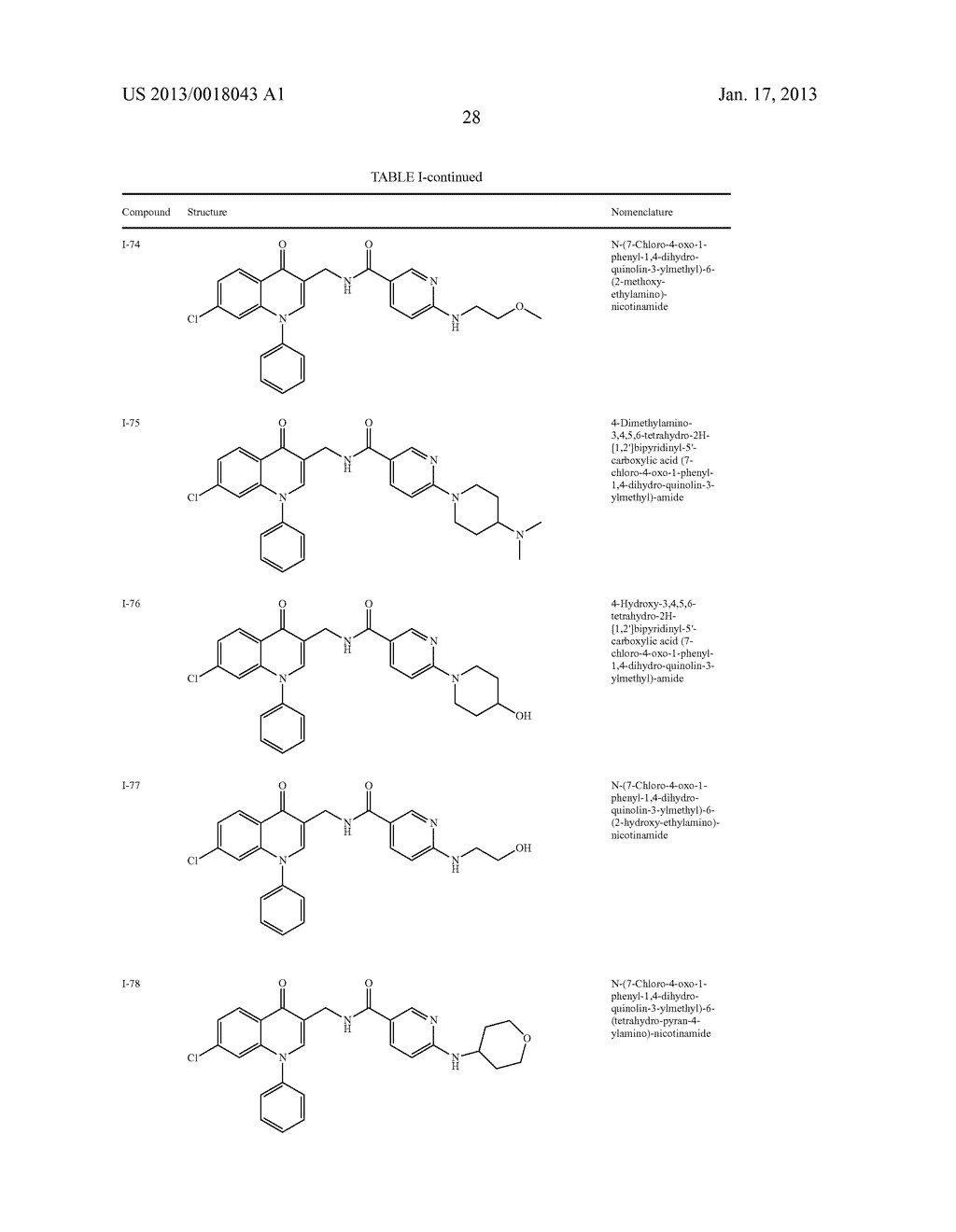 AMINOMETHYL QUINOLONE COMPOUNDS - diagram, schematic, and image 29