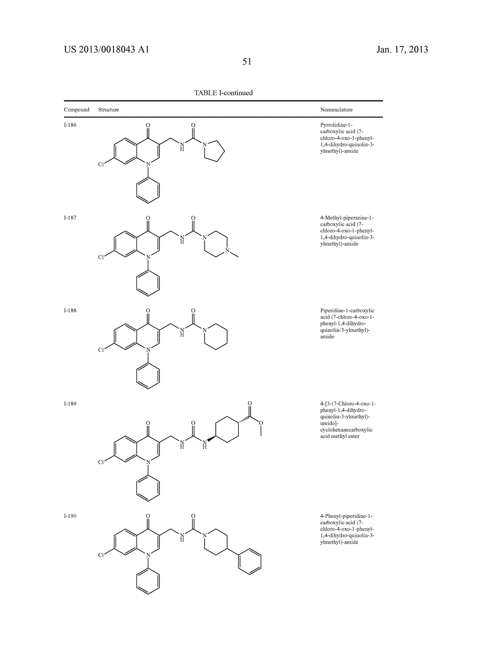 AMINOMETHYL QUINOLONE COMPOUNDS - diagram, schematic, and image 52