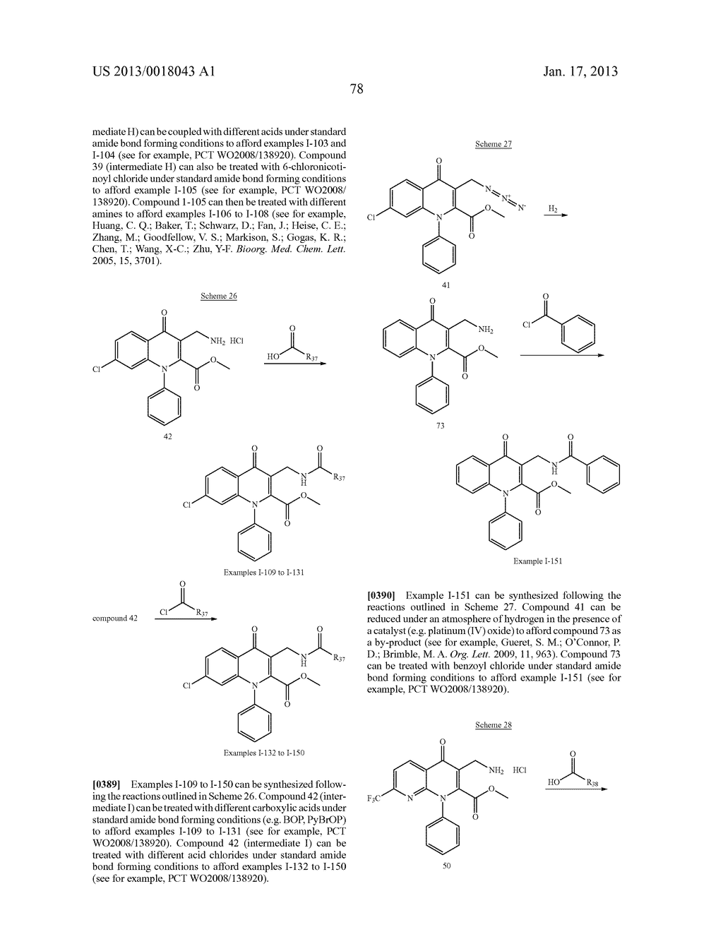 AMINOMETHYL QUINOLONE COMPOUNDS - diagram, schematic, and image 79