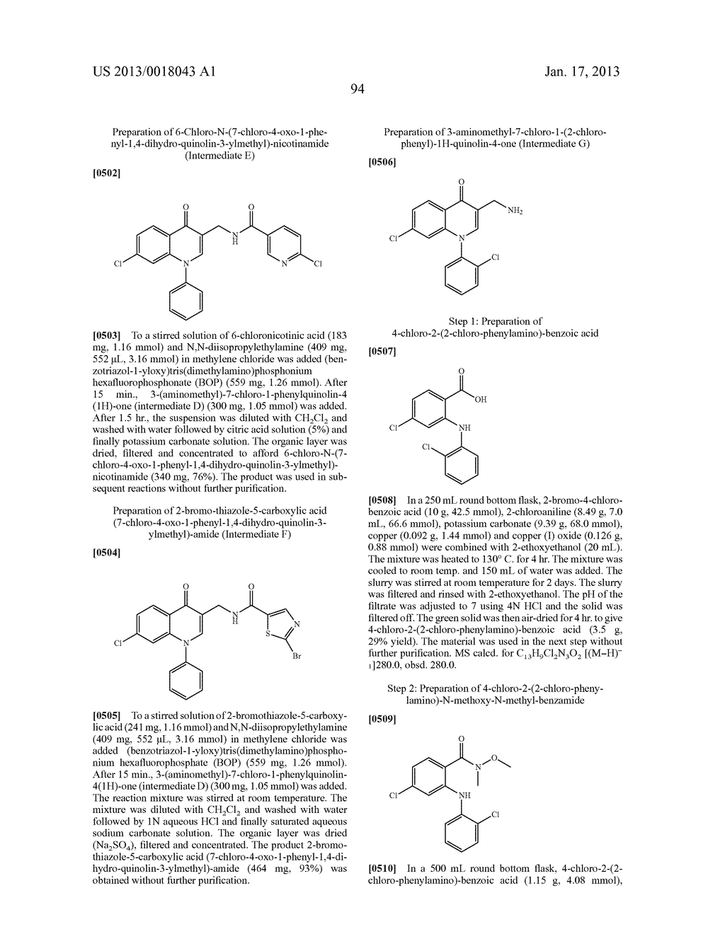 AMINOMETHYL QUINOLONE COMPOUNDS - diagram, schematic, and image 95