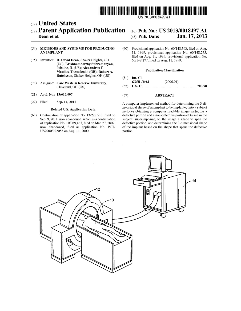 METHODS AND SYSTEMS FOR PRODUCING AN IMPLANT - diagram, schematic, and image 01
