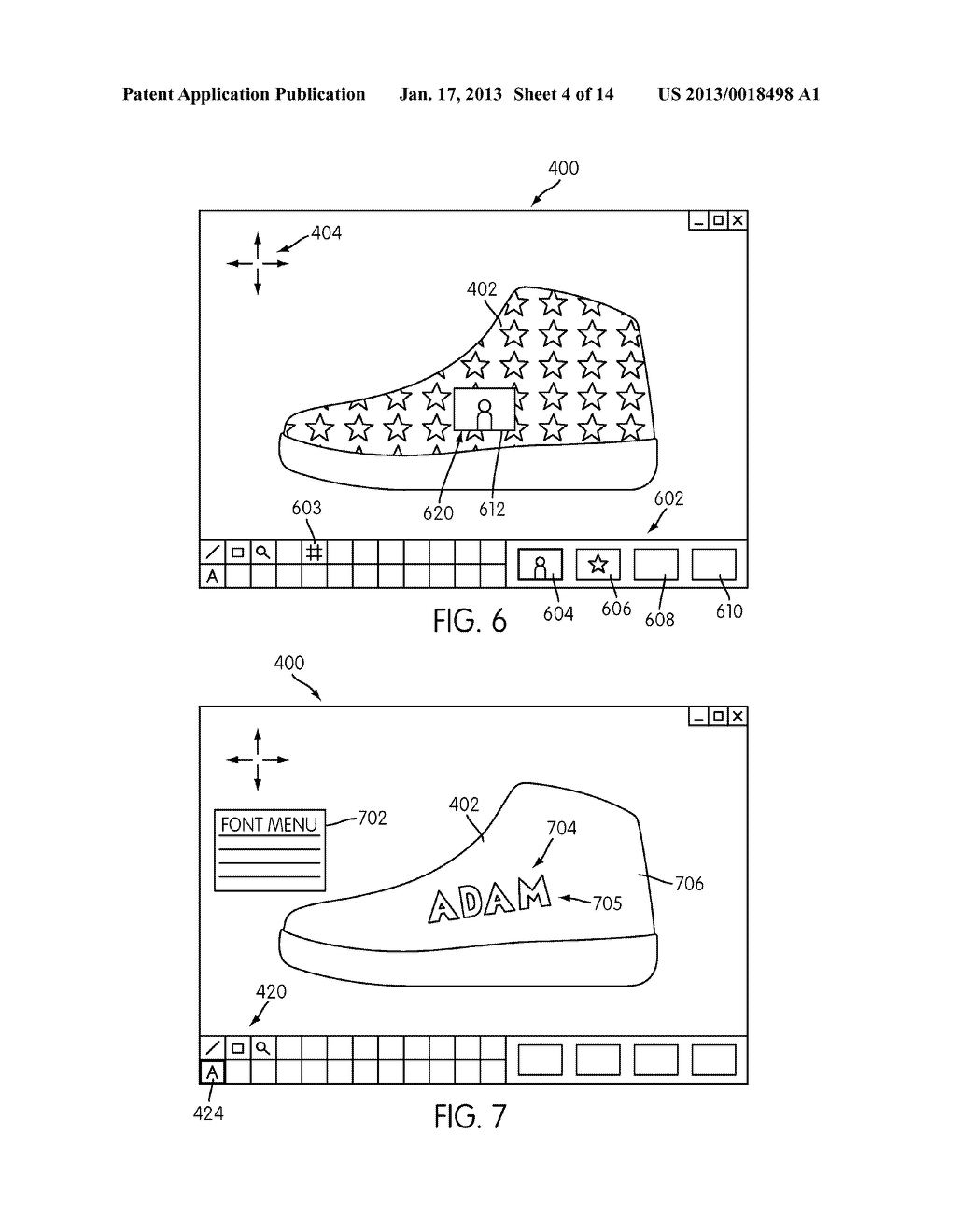 System for Designing a Customized Article of Footwear - diagram, schematic, and image 05