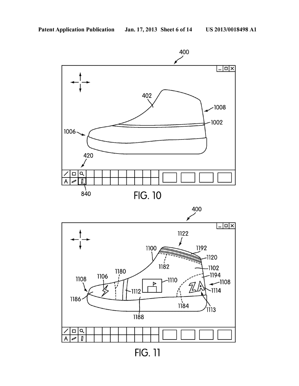 System for Designing a Customized Article of Footwear - diagram, schematic, and image 07
