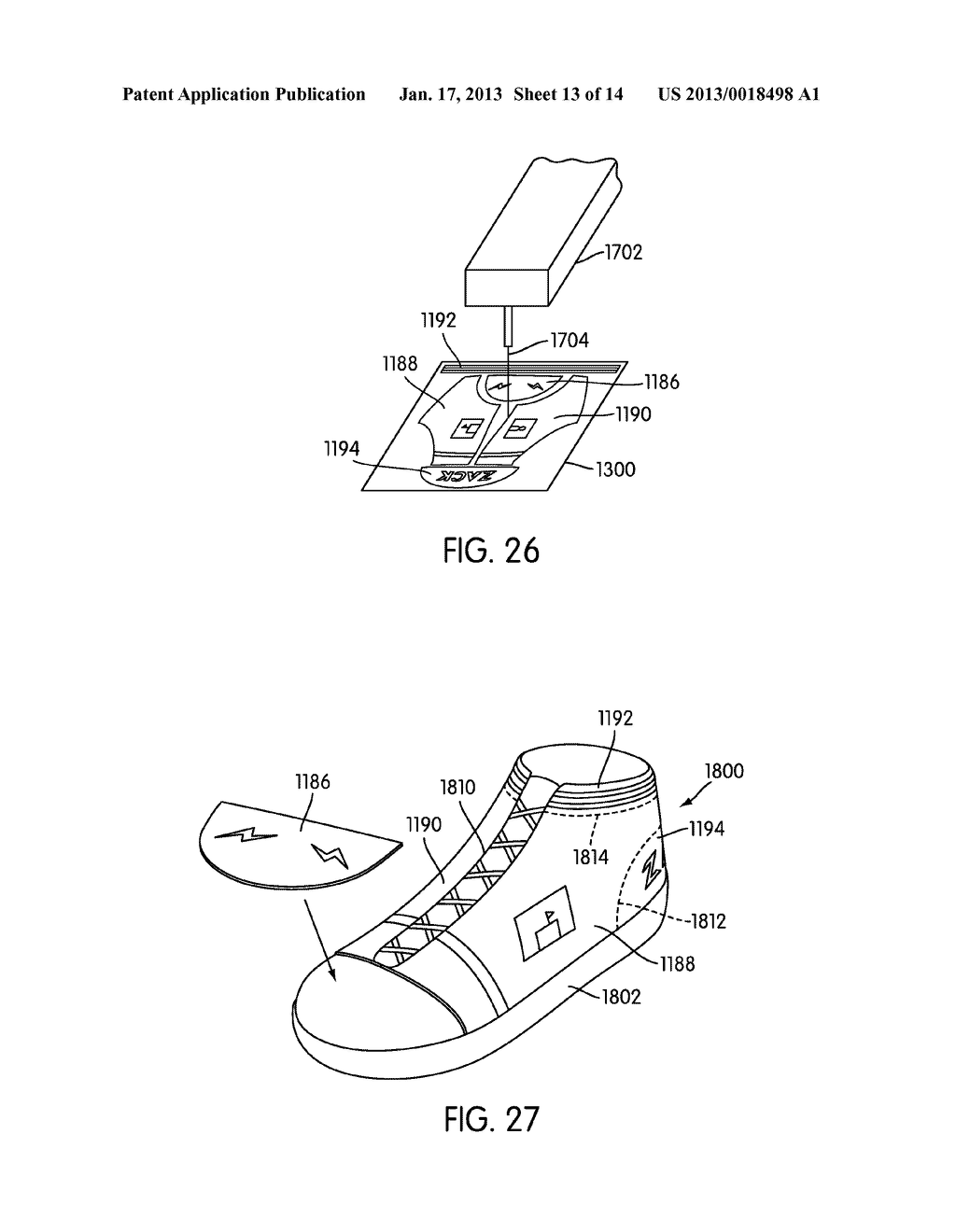System for Designing a Customized Article of Footwear - diagram, schematic, and image 14