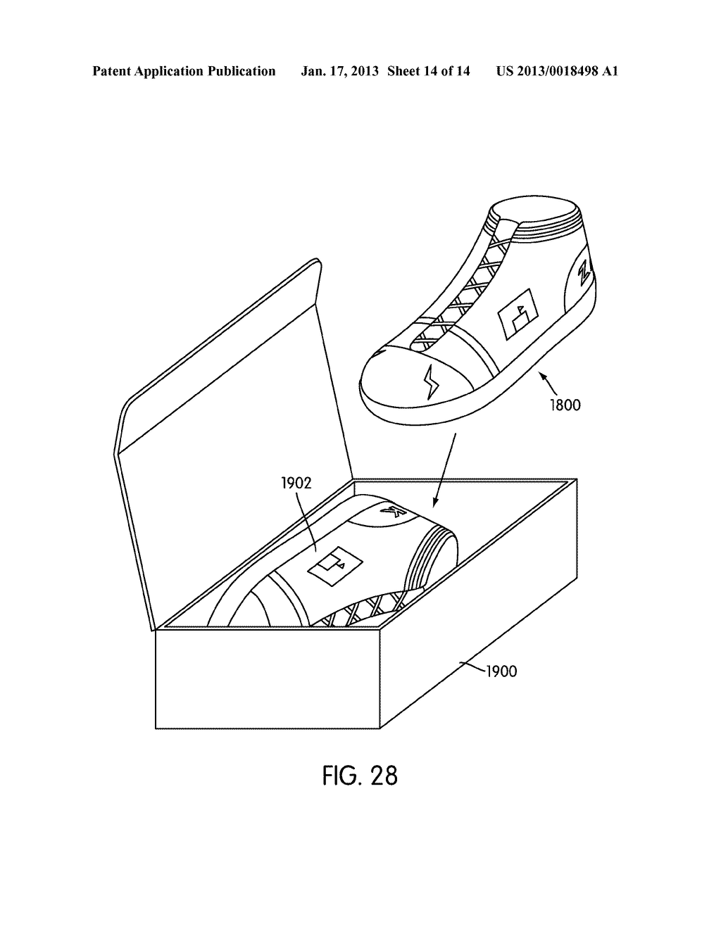 System for Designing a Customized Article of Footwear - diagram, schematic, and image 15