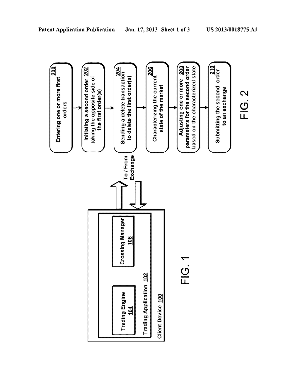 System and Method for Preventing Cross Trading - diagram, schematic, and image 02