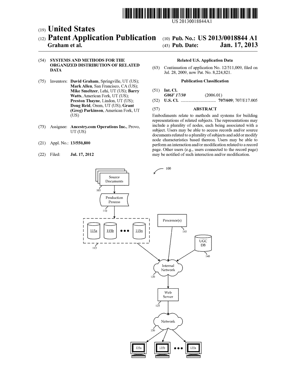 SYSTEMS AND METHODS FOR THE ORGANIZED DISTRIBUTION OF RELATED DATA - diagram, schematic, and image 01