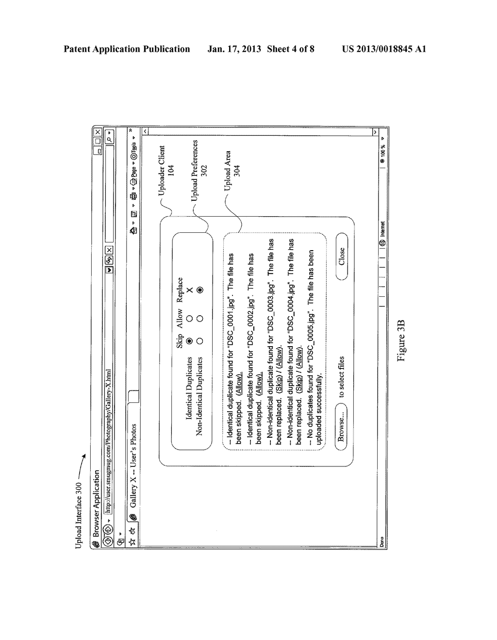 SYSTEM AND METHOD FOR MANAGING DUPLICATE FILE UPLOADSAANM Macaskill; DonAACI Los AltosAAST CAAACO USAAGP Macaskill; Don Los Altos CA USAANM Nichols; SamuelAACI Mountain ViewAAST CAAACO USAAGP Nichols; Samuel Mountain View CA US - diagram, schematic, and image 05