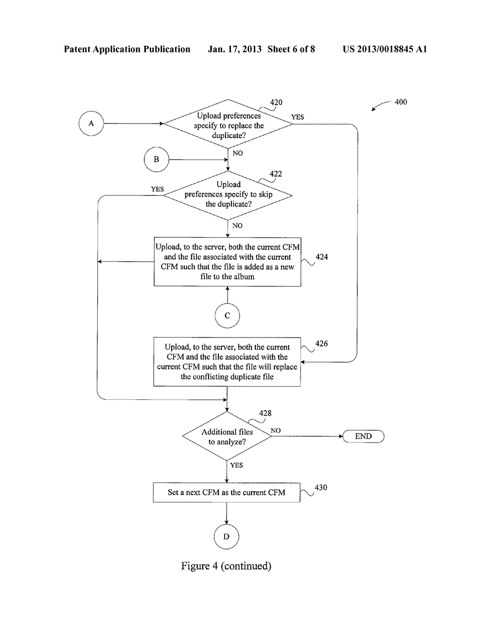 SYSTEM AND METHOD FOR MANAGING DUPLICATE FILE UPLOADSAANM Macaskill; DonAACI Los AltosAAST CAAACO USAAGP Macaskill; Don Los Altos CA USAANM Nichols; SamuelAACI Mountain ViewAAST CAAACO USAAGP Nichols; Samuel Mountain View CA US - diagram, schematic, and image 07