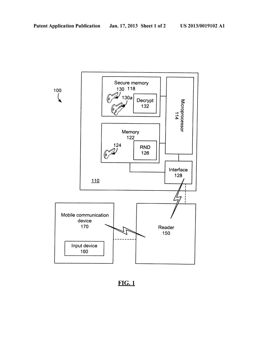 System and method for encrypted smart card pin entry - diagram, schematic, and image 02