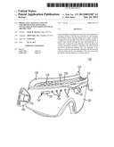 PROTECTIVE GOGGLES AND LENS ASSEMBLIES WITH ADJUSTABLE VENTILATION HAVING     REDUCED VISUAL OBSTRUCTION diagram and image