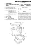 TOILET DEVICE WITH INDICATOR diagram and image