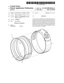 Hose Clamp With Flat Spring Liner diagram and image