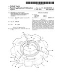Checker Nut for Locking a Threaded Body to a Threaded Rod and Concrete     Reinforcement Assembly diagram and image