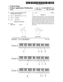 SYSTEM AND METHOD FOR MUSIC INSTRUCTION ON PIANO diagram and image