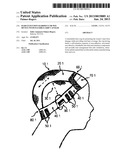 Hair extention hairpiece or wig device with flexible-grip cap base diagram and image