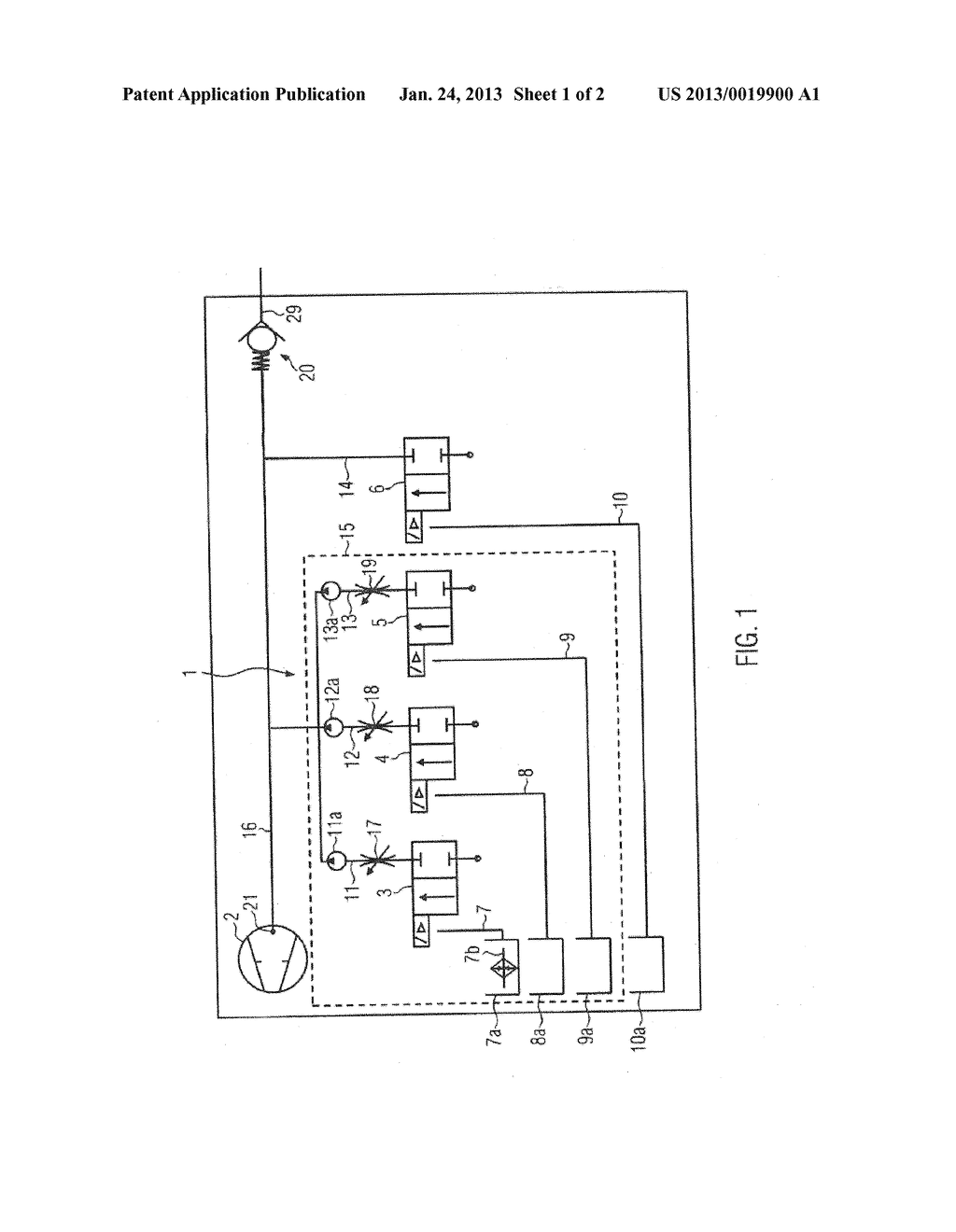 CLEANING METHOD AND SYSTEM FOR A VACUUM PUMP - diagram, schematic, and image 02