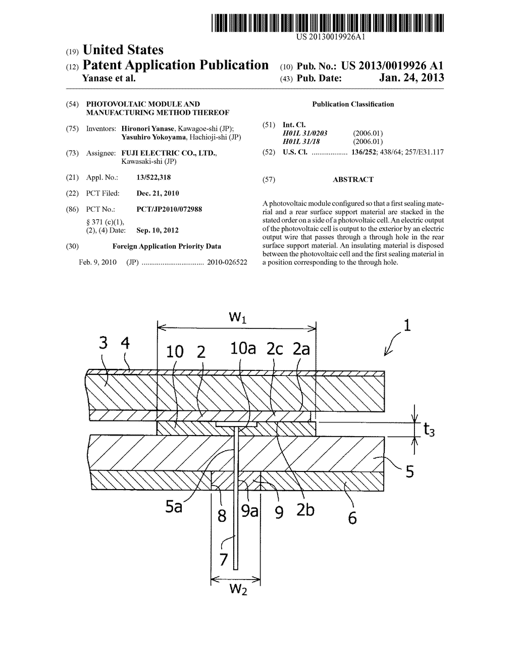 PHOTOVOLTAIC MODULE AND MANUFACTURING METHOD THEREOF - diagram, schematic, and image 01