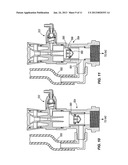 DISPENSING ASSEMBLY WITH SHUT OFF VALVE, BACKFLOW PREVENTER, AND METHODS     OF OPERATING THE SAME diagram and image