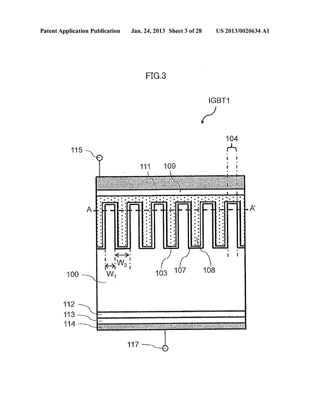 Semiconductor Device and Electric Power Conversion System Using The Same - diagram, schematic, and image 04