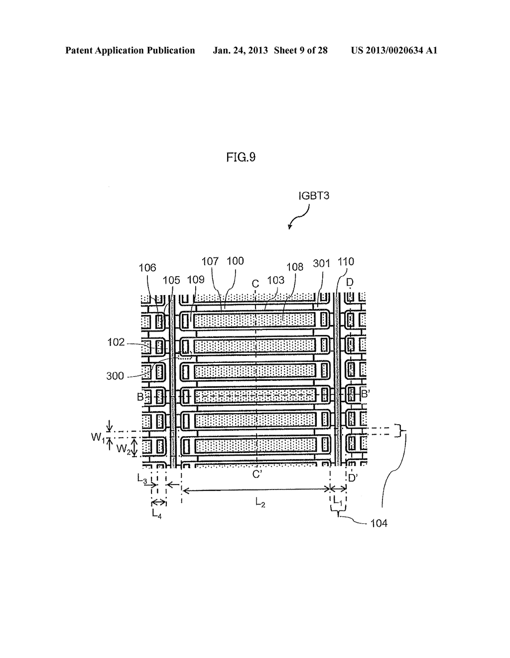 Semiconductor Device and Electric Power Conversion System Using The Same - diagram, schematic, and image 10