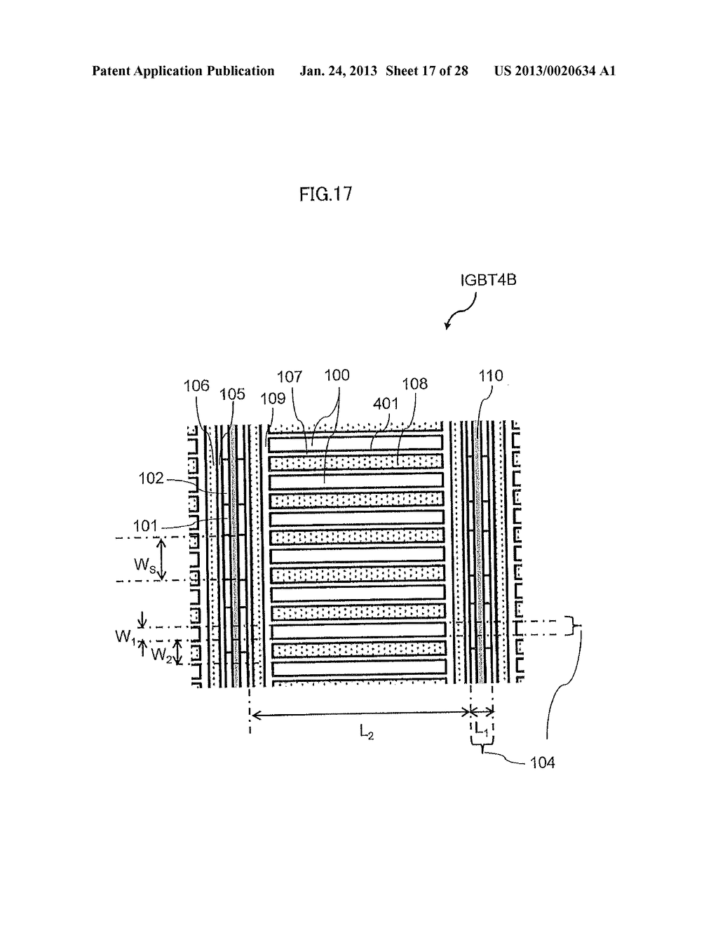 Semiconductor Device and Electric Power Conversion System Using The Same - diagram, schematic, and image 18
