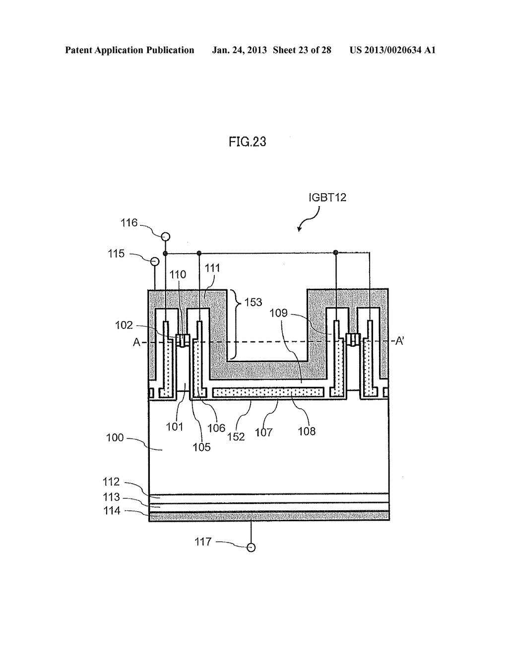 Semiconductor Device and Electric Power Conversion System Using The Same - diagram, schematic, and image 24