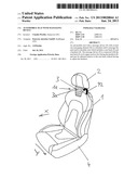AUTOMOBILE SEAT WITH MASSAGING DEVICE diagram and image