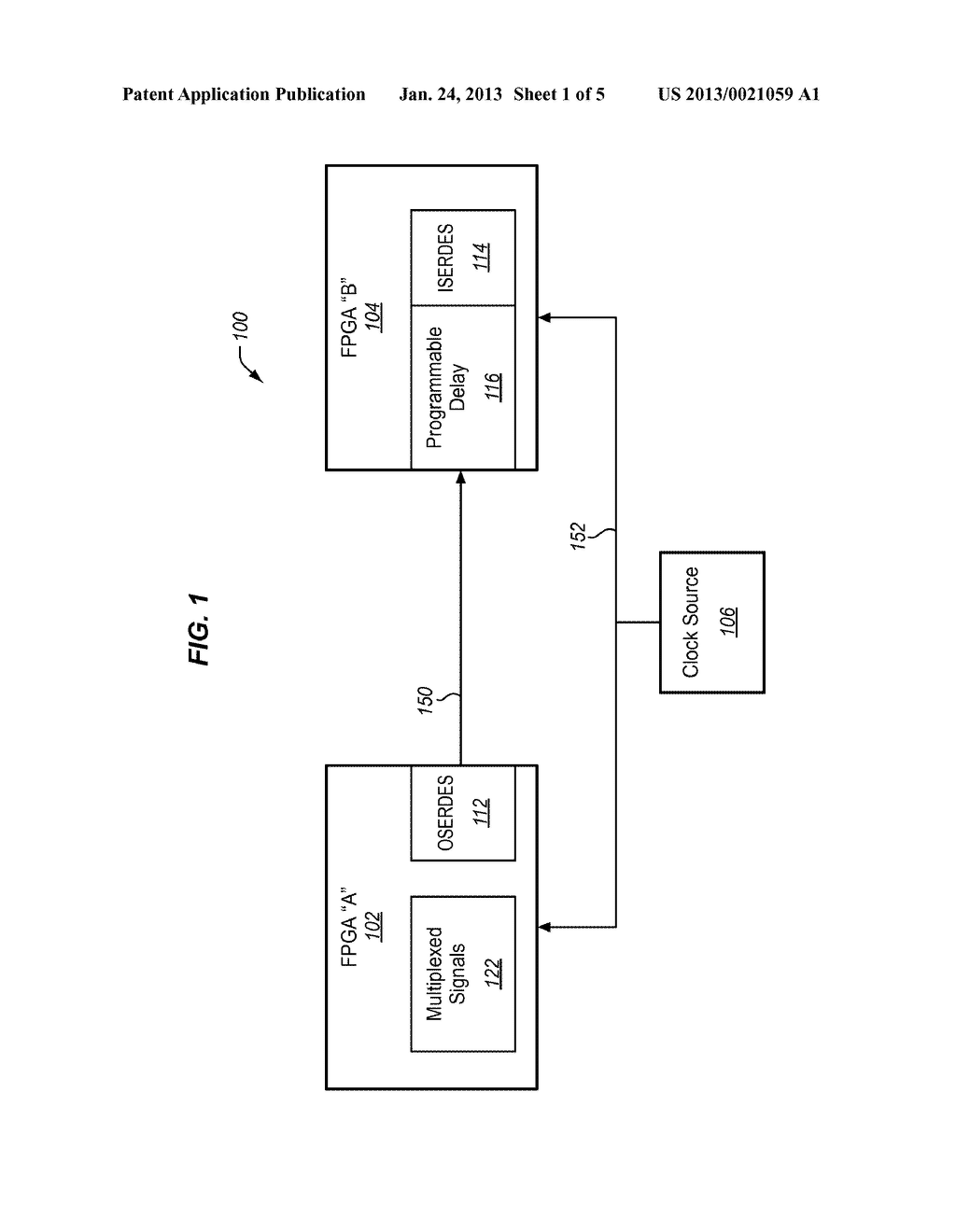 METHODS AND STRUCTURE FOR SOURCE SYNCHRONOUS CIRCUIT IN A SYSTEM     SYNCHRONOUS PLATFORM - diagram, schematic, and image 02